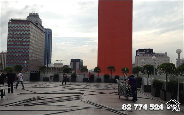 Toldos Regios en Casino Monterrey